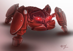 Crab Monster Concept A