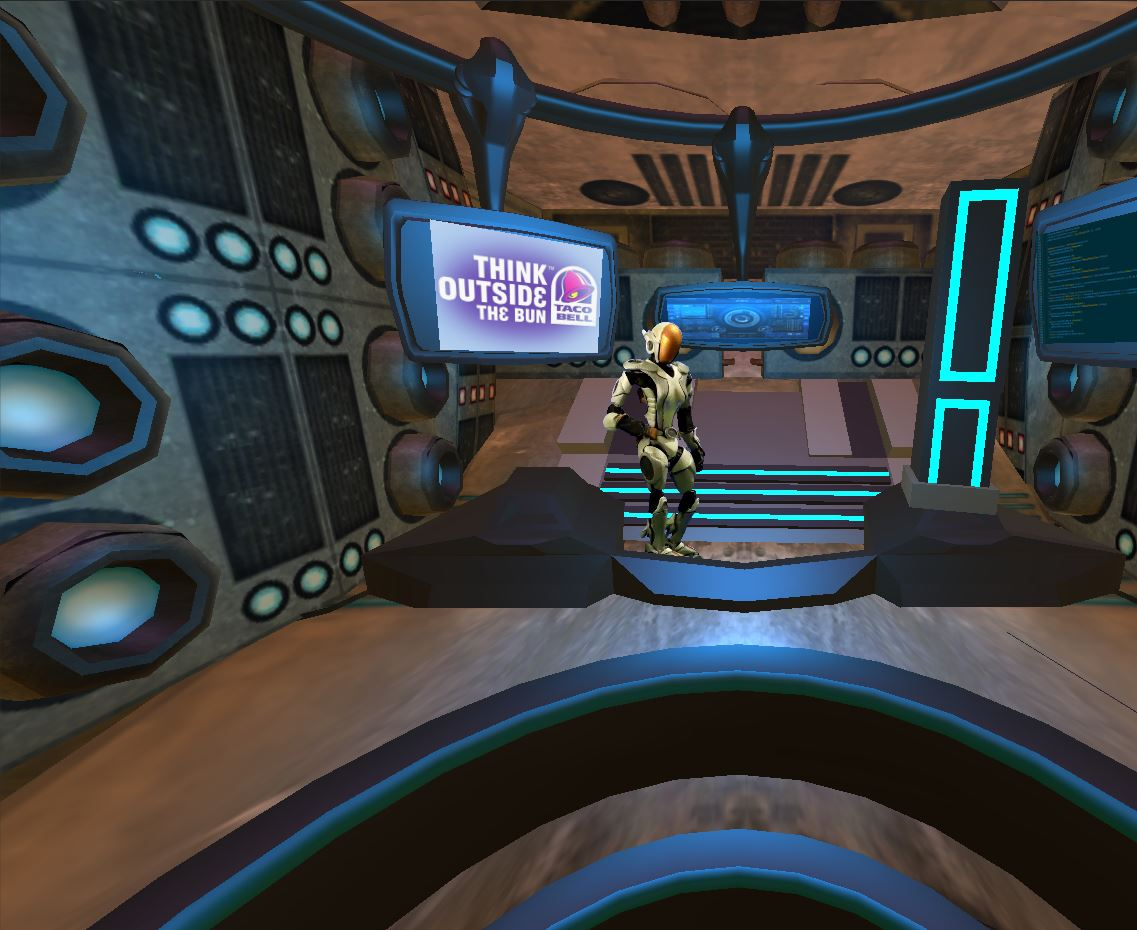 VR Taco Bell Space Adventure