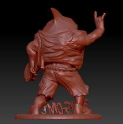 Street shark 3D print