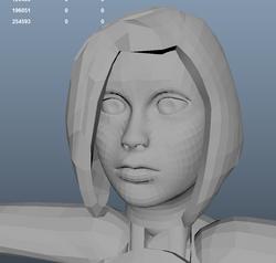Face Sculpt wip