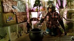 Julie in Greenhouse