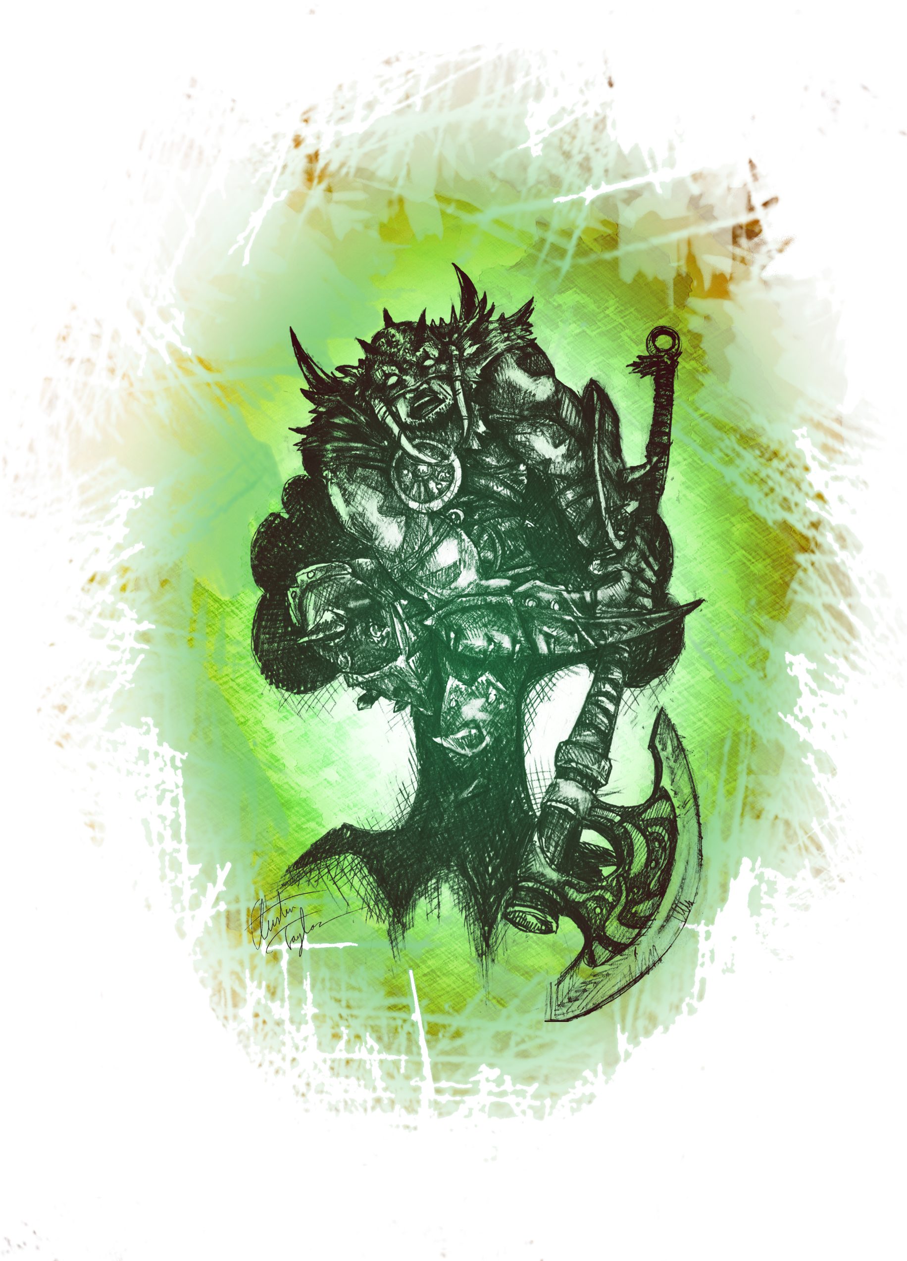 Garruk Graphic