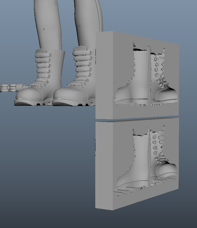 Boot molds