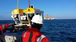 Offshore rov, rov work, rov job