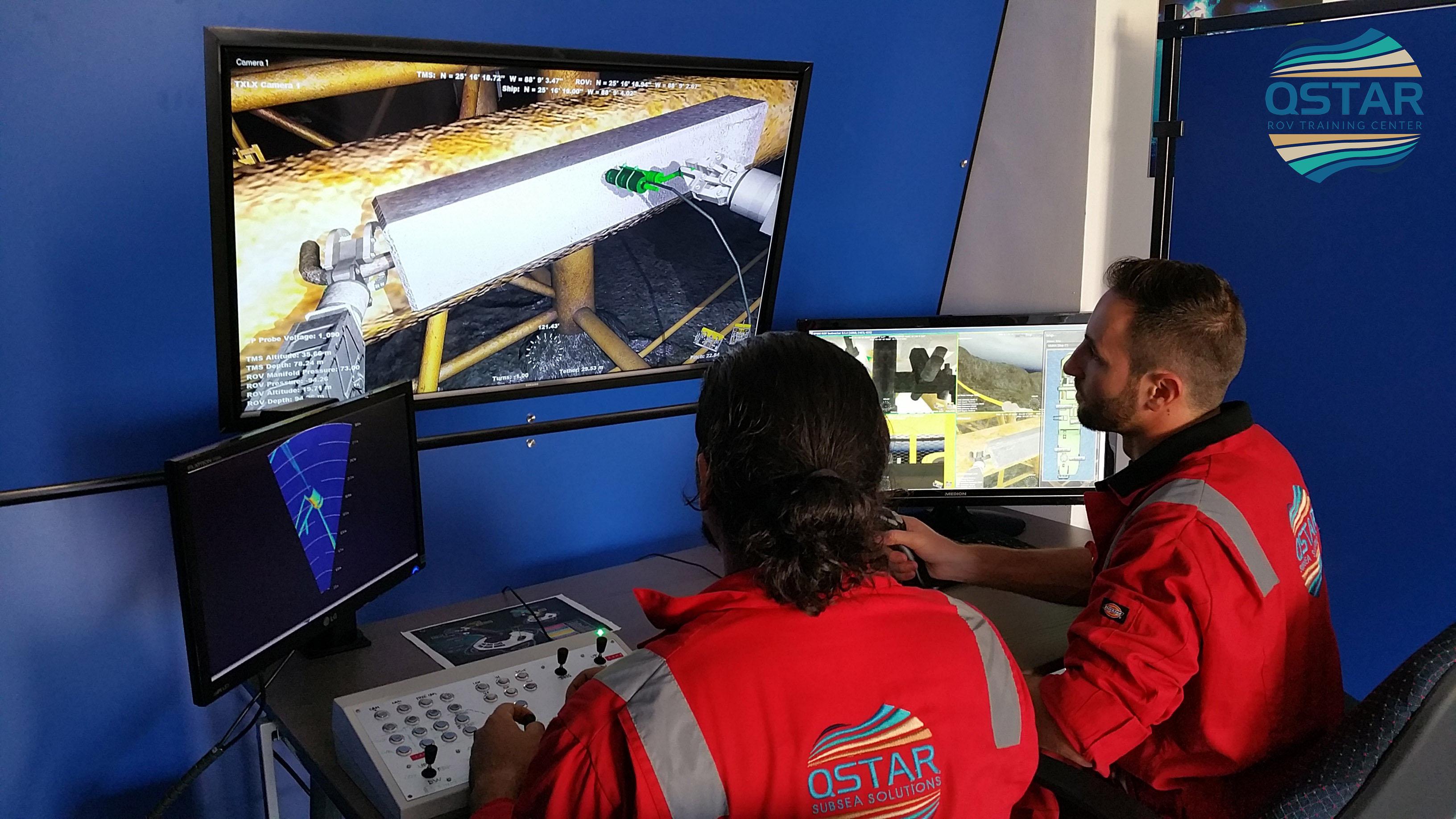 rov simulator, rov training, rov