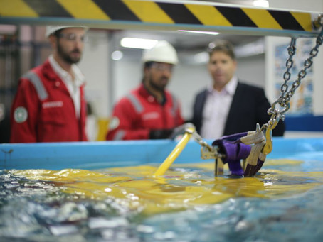 An exceptional review for the upgraded ROV Perseo GTV delivered to QSTAR