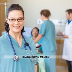 background médico