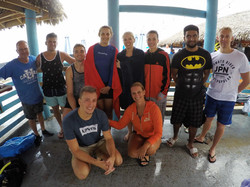 Local Open Water Students