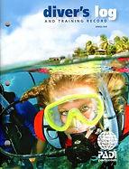 PADI Diver Log Book