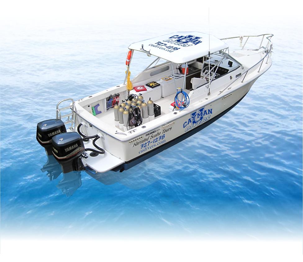 Cayman Dive Boat Campus Diver