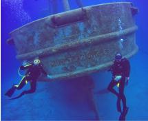USS Kittiwake Wreck