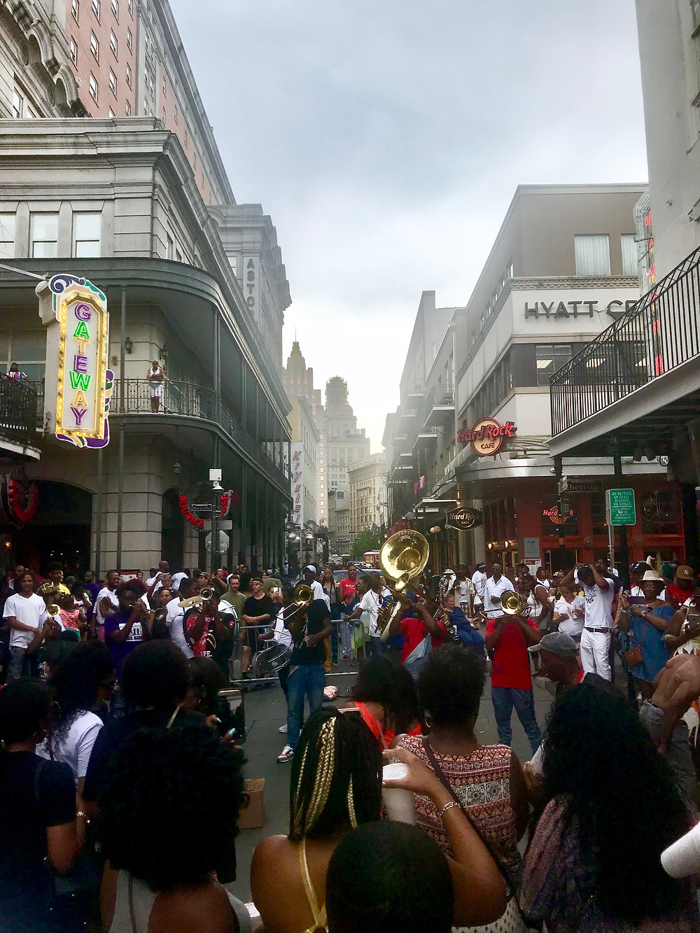 During Essence Fest we caught more than a few amazing Jazz Bands while roaming Bourbon Street by day.