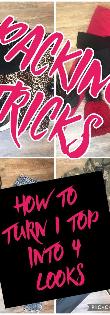 Packin Trick:  1 Top 4 Ways