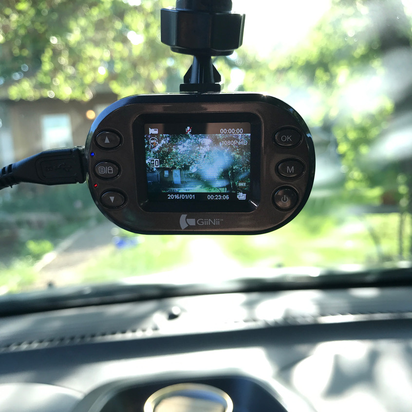 Yep, I am excited to see the new addition to the filming crew with this little dash mounted camera and hope to provide lots of interesting in car outtakes!