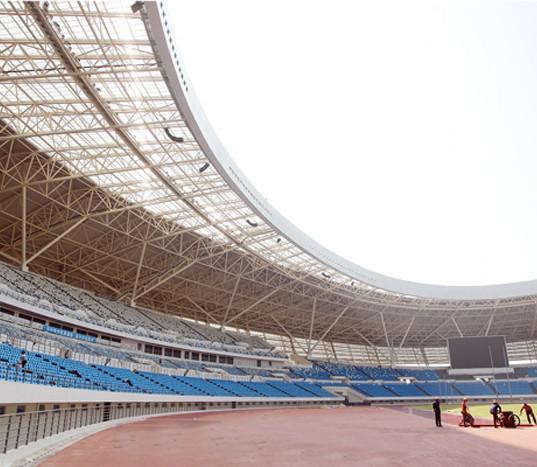 Tribune til OL-stadion