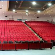 Auditorieløsning med røde seter