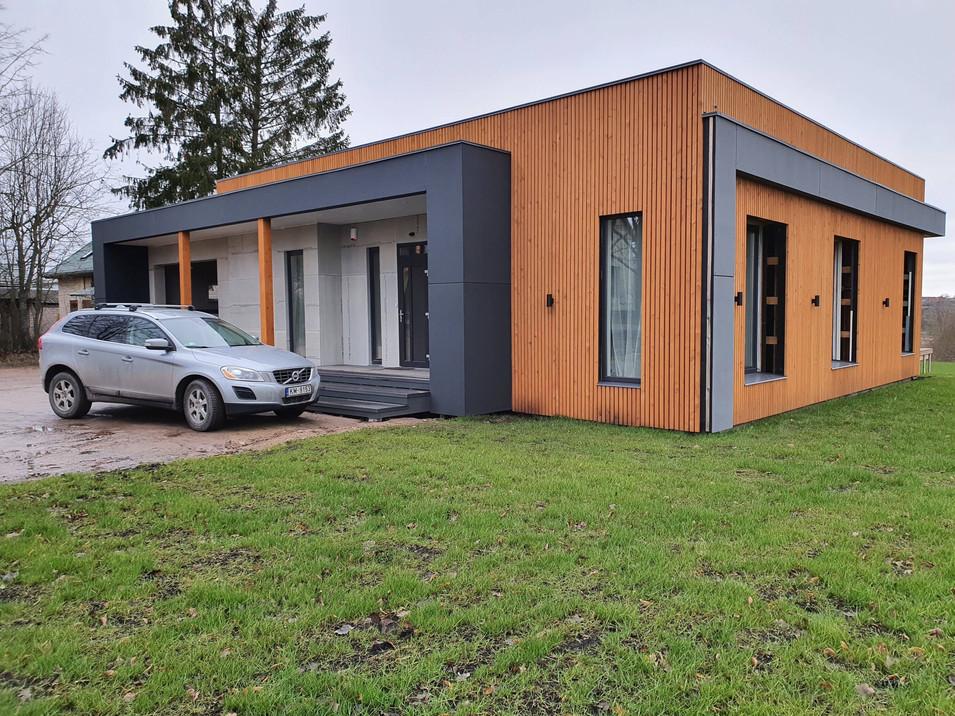 Moderne systemhus basert på moduler
