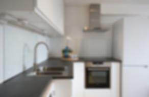 Eksempel på kjøkkenløsning til leilighet Grooshaven