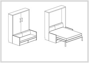 FD15 Smartseng med sofa