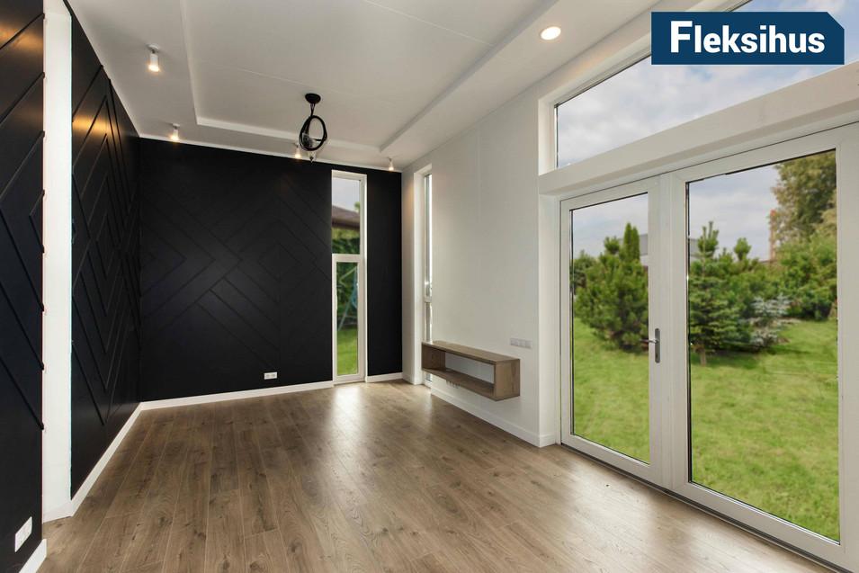 Stue med god utsikt minihus