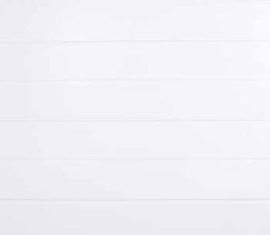 SNP Garasjeport Trestruktur hvit High Rib