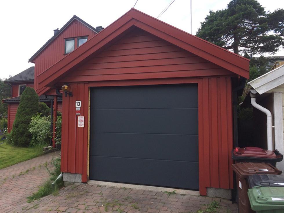 Eurodoor Antrasitt garasjeport