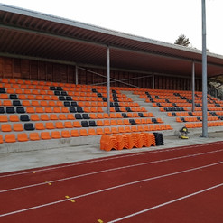 Fastmontert tribuneløsning til Arendal idrettsklubb
