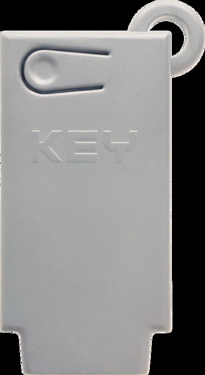 KEY appstyring til Halo portåpner for å åpne garasjeport med mobil