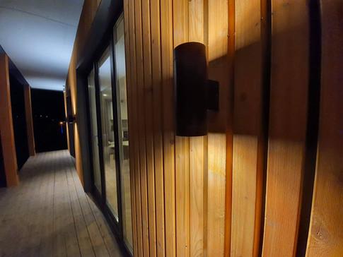 Detalj Moderne systemhus basert på moduler