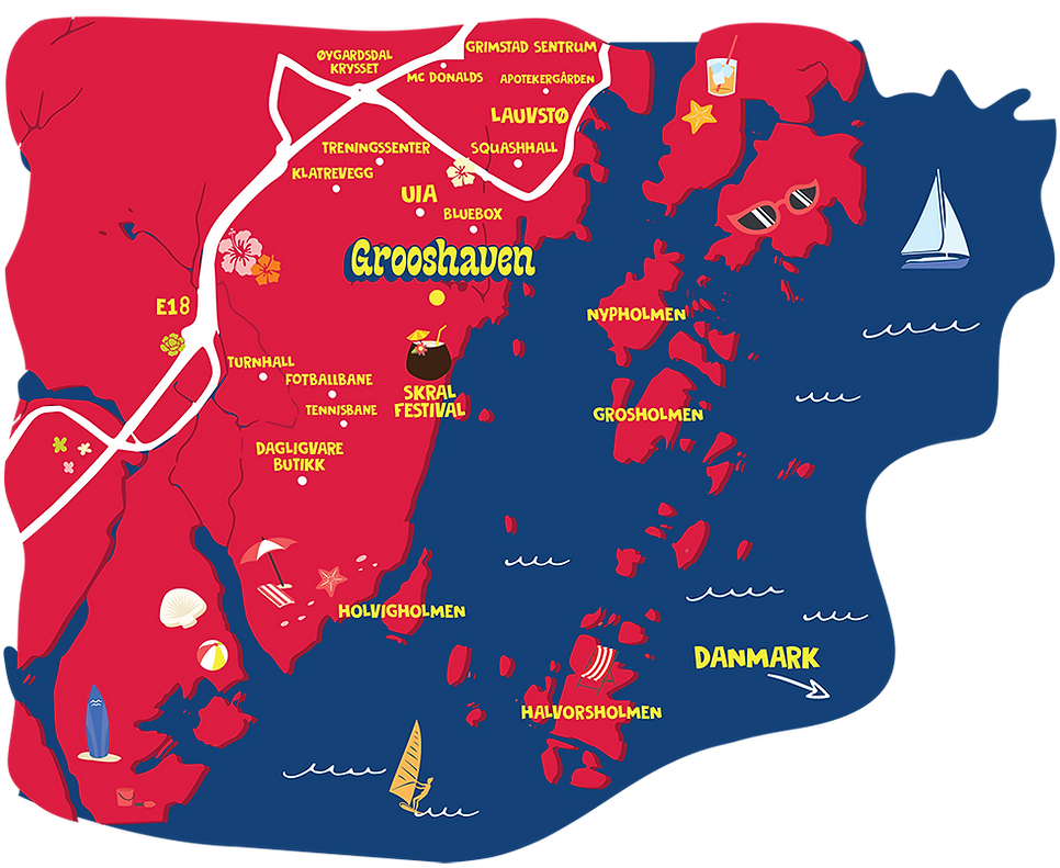 Grooshave Kart Grimstad