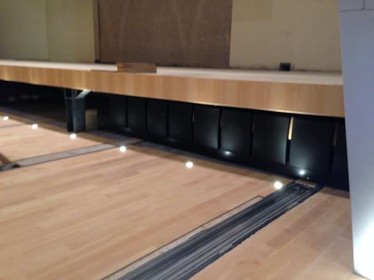 Railsystem for auditoriestoler