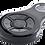 Sort Halo SUB fjernkontroll til garasjeportåpner til nøkkelknippe