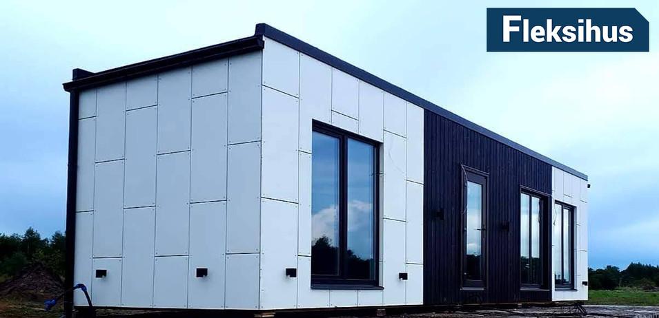Minihus 30m2 fasade