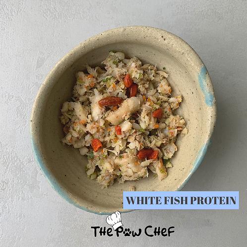 White fish bowl - 300g/pack