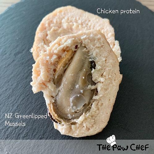 Greenlipped Mussels Meatballs (Frozen)