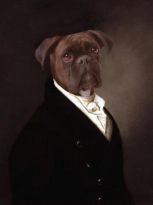 "Portrait of Brutus - 8"" X 10"""