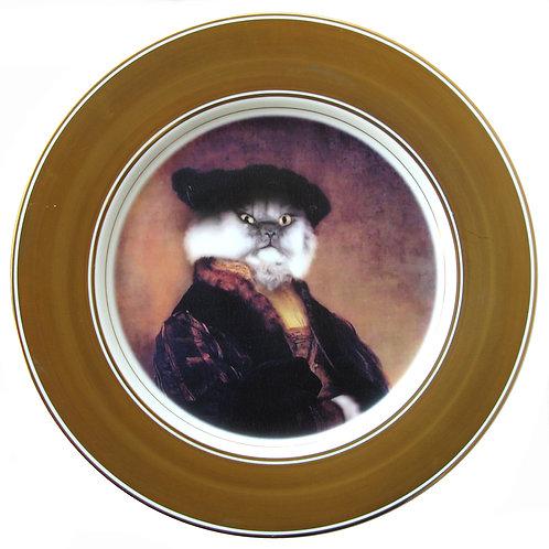 "Piers Felis, 6th Viscount Shiraz Plate 12"""
