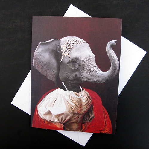 Nathalie of France - Note Card (3)