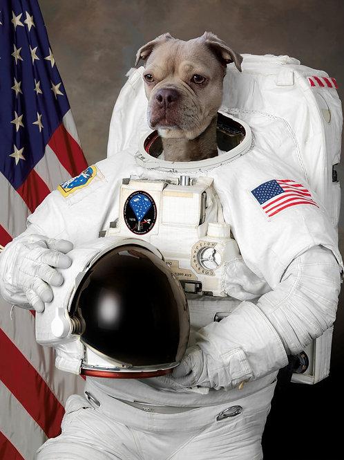"Astro Dog - 8"" X 10"""