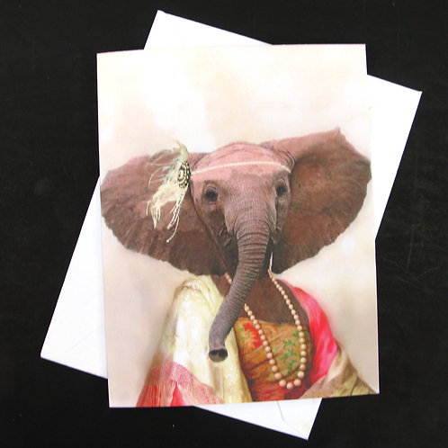 Eleanor the Elephant - Note Card (3)