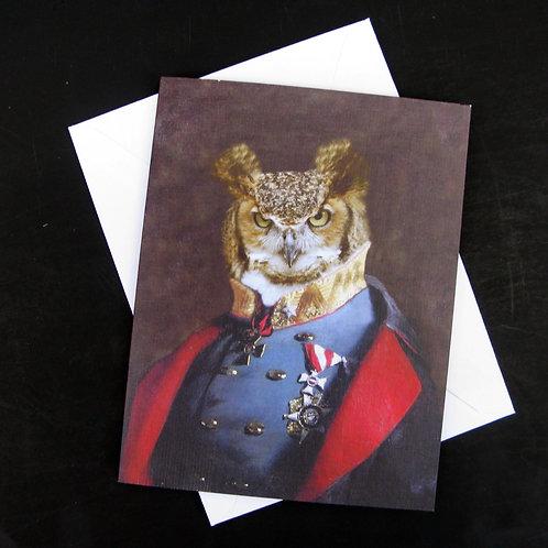 Captain Strigiformes - Note Card (3)