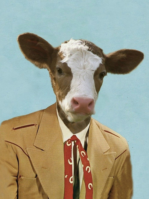 "Colton the Cowboy - 8""X10"""