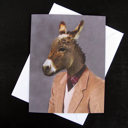Portrait of a Jack Ass - Note Cards (3)