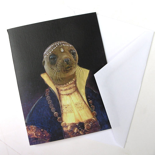 Princess Pinniped - Note Cards (3)