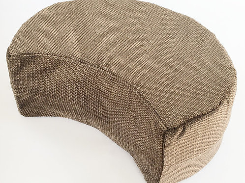 Crescent Cushion Black/Copper (16cm)