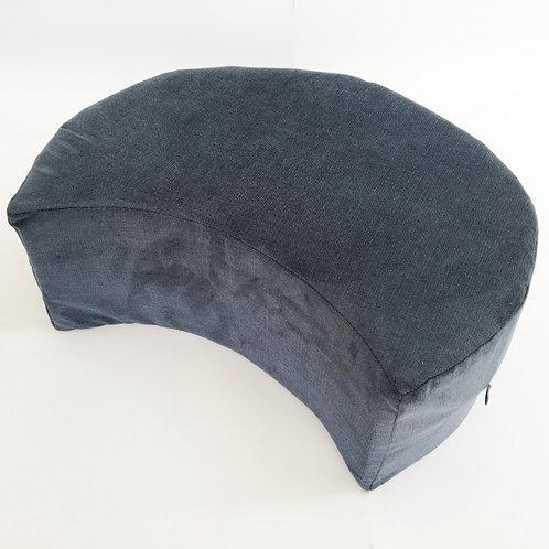 Crescent Cushion Blue (16cm high)