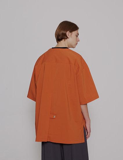 Orange Dry Weather Nylon Top