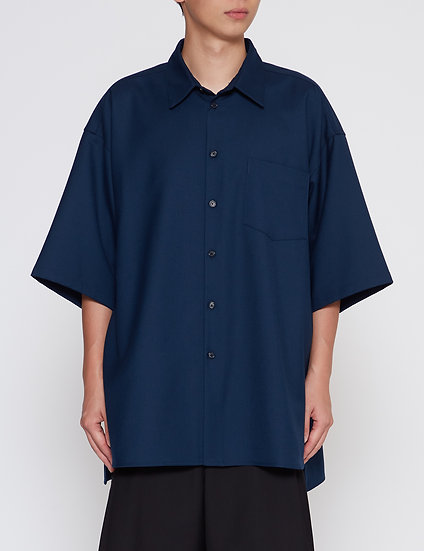 Midnight Oversized Back Yoke Shirt