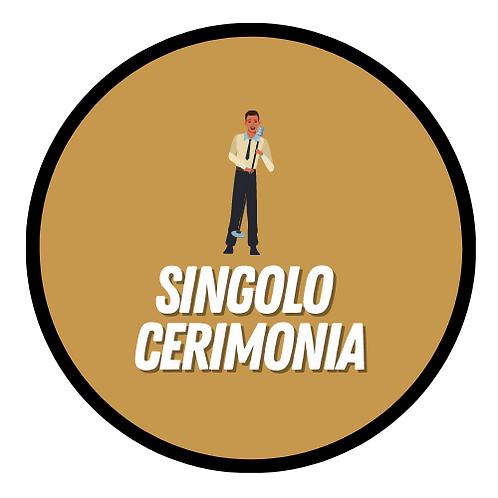 Singolo - Cerimonia