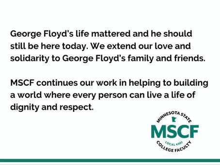 MSCF Statement on Derek Chauvin Verdict and the Work Ahead